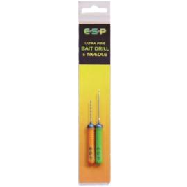ESP Ultra Fine Bait Drill & Needle