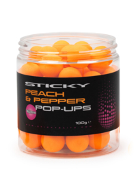 Sticky Baits Peach & Pepper Pop-Ups