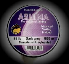 Ashima Gangster Sinking Braided 20Lbs 600m