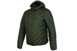 Fox Collection Green/Silver Quilted Jacket