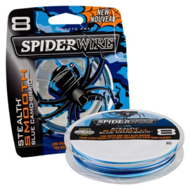 SpiderWire Stealth Smooth 8 Blue Camo 150m/300m