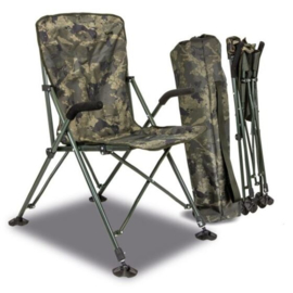 Solar Undercover Camo Foldable Easy Chair High