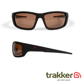 Trakker Amber Wrap Around Polarized Sunglasses