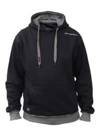 Sticky Baits Black Pullover Hood