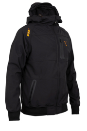 Fox Collection Black/Orange Shell Hoody