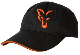 Fox Black / Orange Baseball Cap