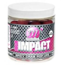 Mainline High Impact Pop Ups - Spicy Crab 15mm