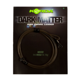 Korda Dark Matter Leader Size 8 Ring Swivel