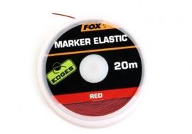 Fox Marker Elastic 20m Rood
