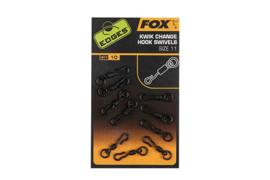 Fox Kwik Change Hook Swivels (Size 11)