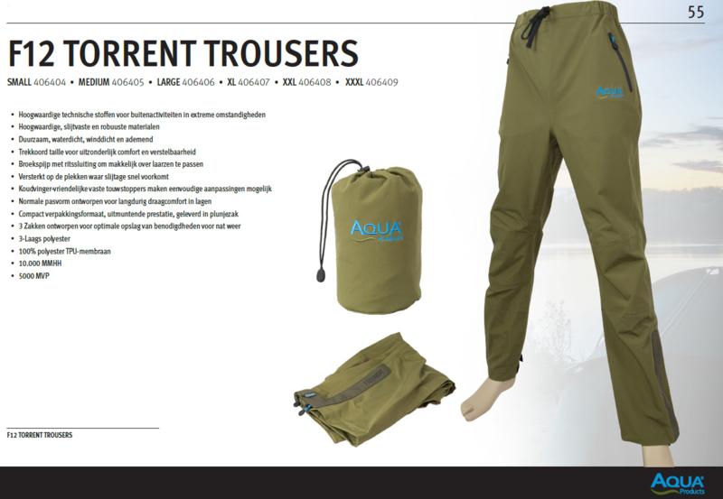Aqua F12 Torrent Trousers