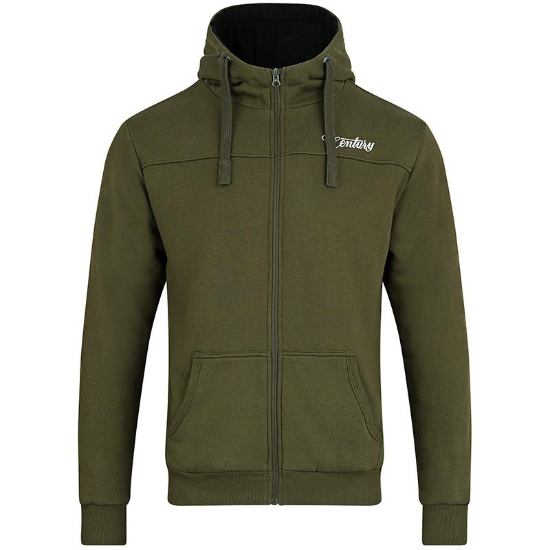 Century NG Premium Zip Hoody Green