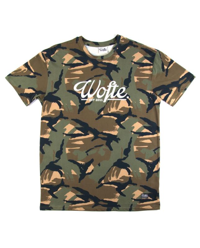Wofte Camo Est T Shirt