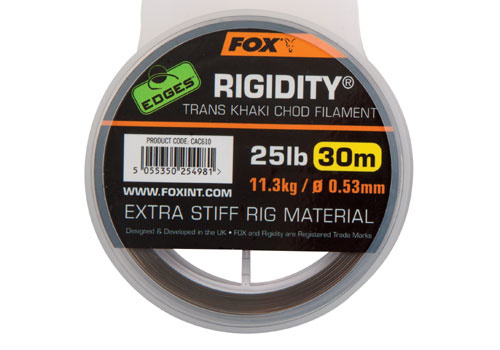 Fox Rigidity Trans Khaki Chod Filament