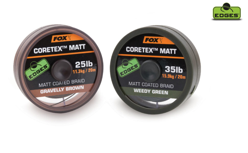 Fox Coretex Matt - Gravelly Brown