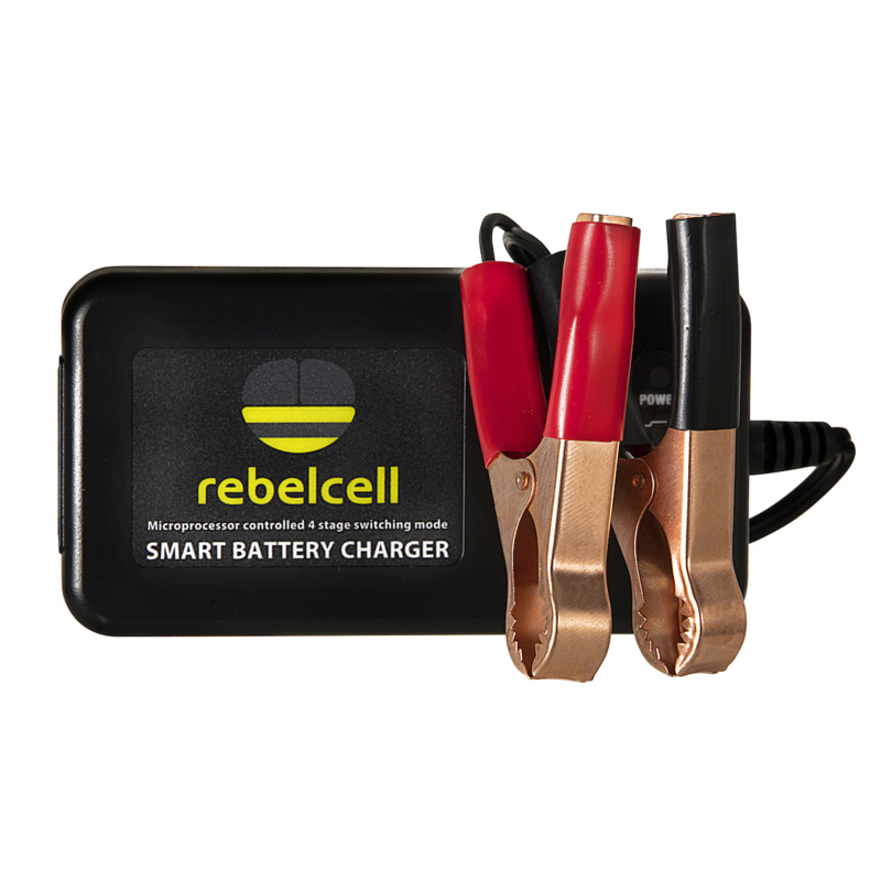 Rebelcell 4A Acculader voor 12V18 Li-ion accu