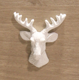 Deer's head white