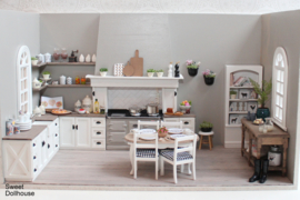 Room box kitchen taupe