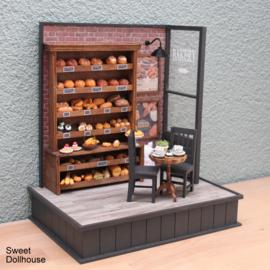 Decoratie hoekje bakkerij