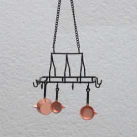 Copper pans   3pcs
