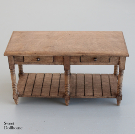 Sidetable rustic with drawers