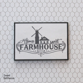 Poster Home sweet farmhouse