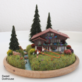 Swiss diorama
