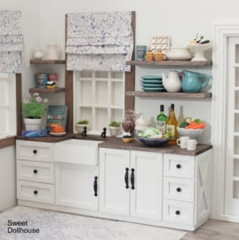 Farmstyle kitchen (available in different colors)