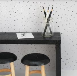 Potloodjes in potje zwart-wit