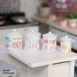 Canisters cooking (4pcs)