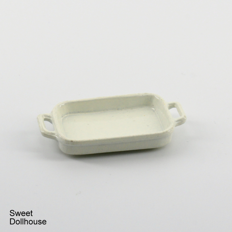 Oven dish white