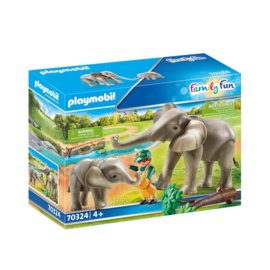 Playmobil 70324 Olifantenverblijf