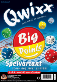 Qwixx Big Points (Extra Scoreblok)