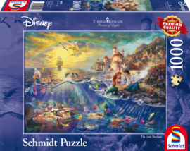 Disney Kleine Zeemeermin, Ariël, 1000 stukjes - Puzzel