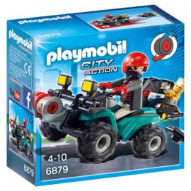 Playmobil 6879 Bandiet en Quad met Lier
