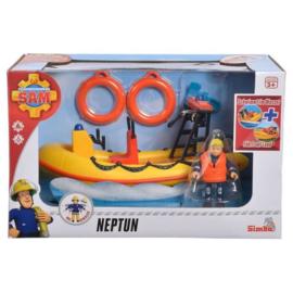 Brandweerman Sam Boot Neptune met Figuur