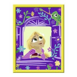 Schilderen op nummer Rapunzel