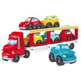 Autotransporter met Auto's