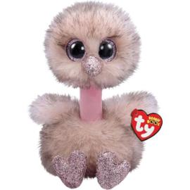 Ty Henna Brown Ostrichboo Med 24 cm