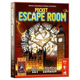 Spel Pocket Escape Room : Lot van London