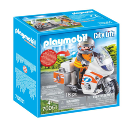 Playmobil 70051 Spoedarts op de motor