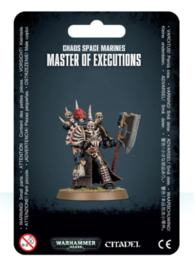Chaos Space Marine Master of Executions