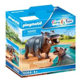 Playmobil 70354 Nijlpaard met Baby