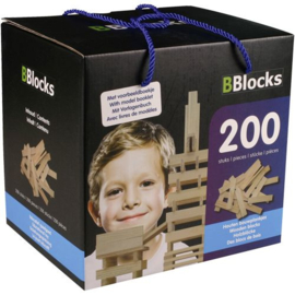 BBlocks Bouwplankjes 200-delig