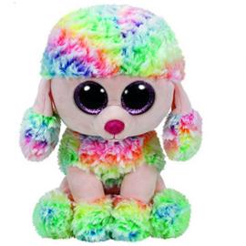 TY Pluche 24 cm Poedel Rainbow