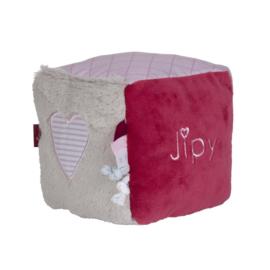 Jipy Kubus met spiegeltje Roze