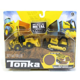 Tonka Bulldozer and Front Loader