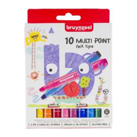 Bruynzeel Kids Zigzag Viltstiften (10 stuks)