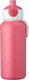Mepal Campus Drinkfles Pop-up 400 ml - Roze