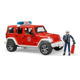 Bruder Jeep Wrangler Brandweerauto